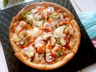大虾披萨,试试吧!