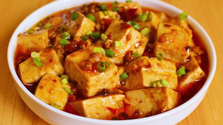 正宗地道的麻婆豆腐