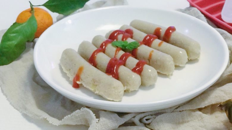 宝宝辅食:猪肉玉米肠