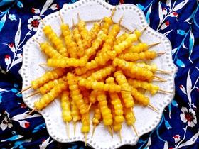 甜蜜的黃金米粒