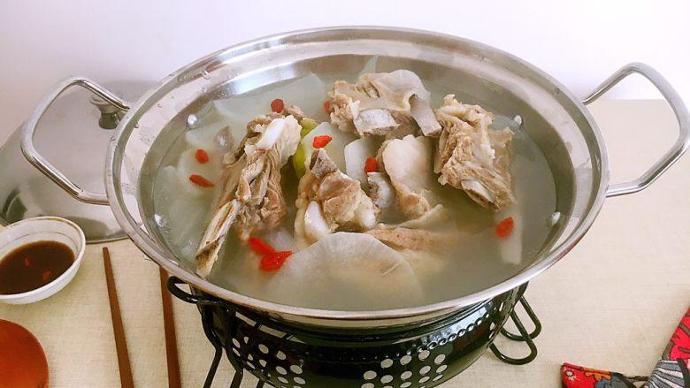 #感恩节食谱# 锅仔萝卜羊排