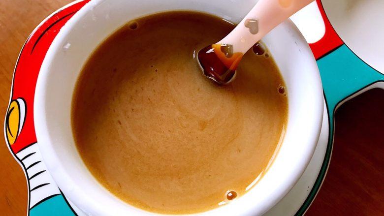 香菇油菜 ,搅拌均匀,调成汁备用