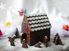 【圣诞节】巧克力圣诞屋