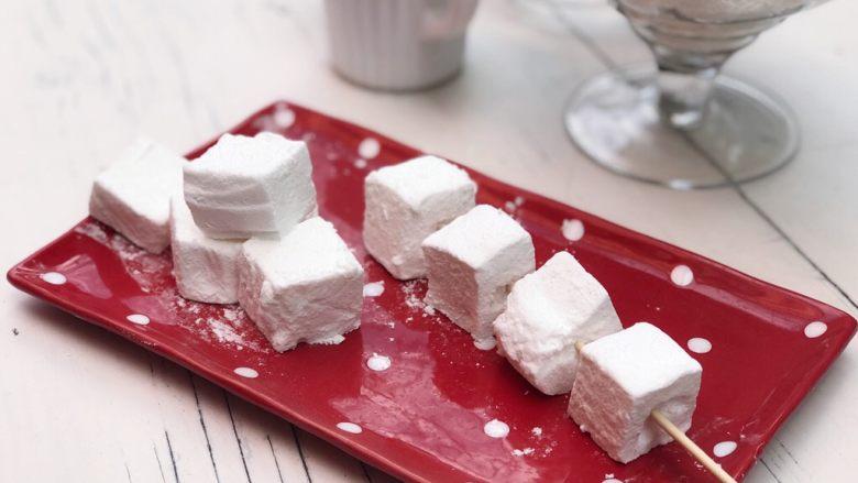 经典棉花糖,马上就可以吃了