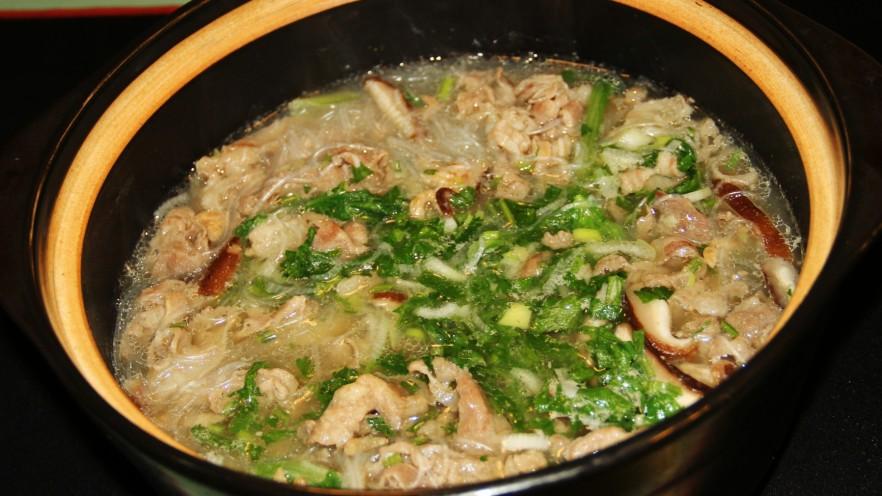 小白菜羊肉粉丝汤