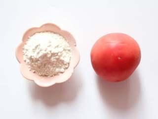 番茄小软饼(适合9个月龄以上的宝宝),准备所有食材