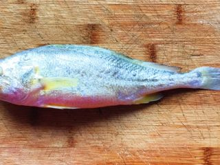 幸福的味道-红烧黄鱼,买一条新鲜黄鱼