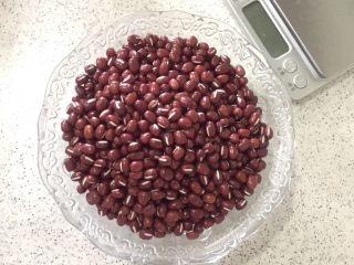 自制红豆沙,准备200g红豆