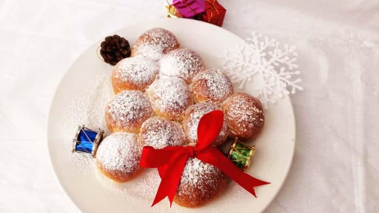 圣诞季之圣诞树面包