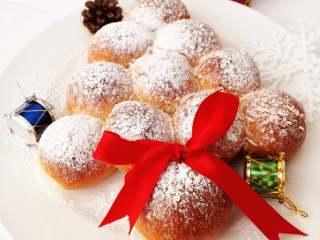 圣诞季之圣诞树面包,再来一张。