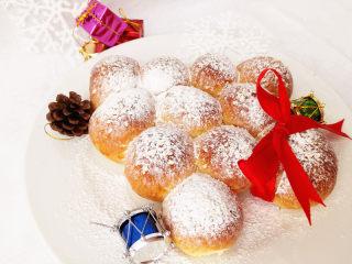 圣诞季之圣诞树面包,快乐。