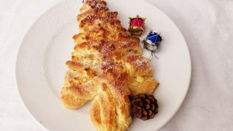 圣诞季之圣诞树面包(2)