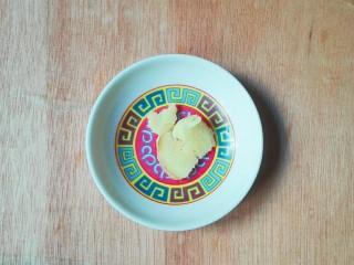 剩米饭的春天~九(韭)心(杏)蛋泡饭,生姜切片