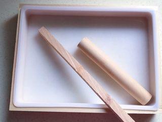 原味雪花酥❄️,准备好硅胶模具