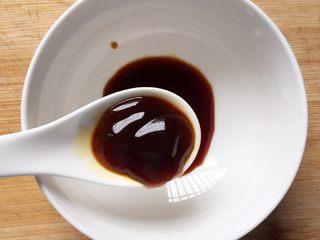香菇炒青菜,加入一勺耗油