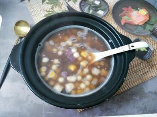 芋圆小火锅,热乎的小火锅