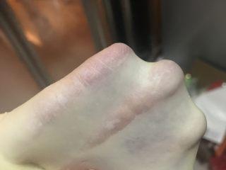 奶香土司,约15分钟即可撑出更薄的手膜