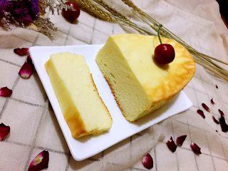 轻乳酪蛋糕,成品图