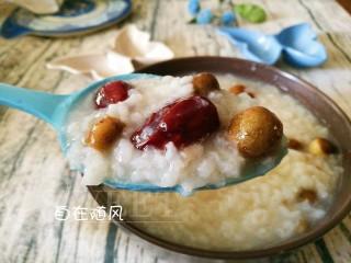 香香糯糯~山药豆养生粥,直至米粒开花 米汤棉绸 😋😋😋