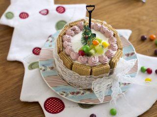 圣诞威化饼干蛋糕(好吃有颜值)