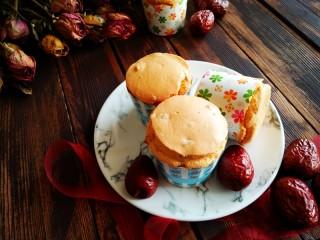 红枣戚风蛋糕杯