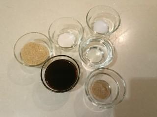 台式雞肉飯,調味料:糖、鹽、鮮味素、醬油、米酒、白胡椒粉