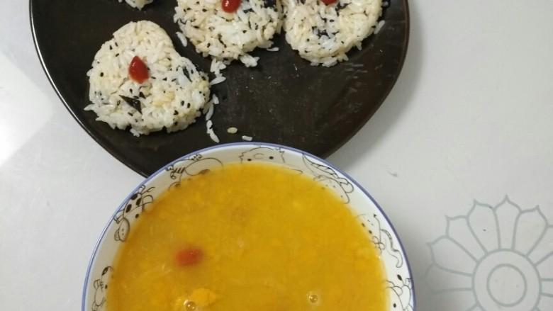 低热量黑芝麻海苔饭团🍙