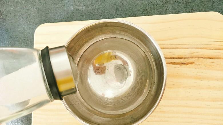 水蒸蛋,准备一碗温水