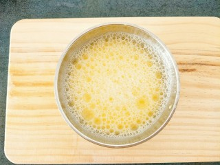 水蒸蛋,搅拌均匀