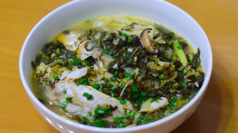 寻鲜记——雪菜黄鱼面