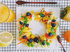 """""""吃定彩虹""""7日创意主题早餐带你感受晨之美!"""