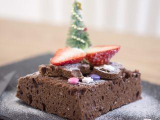 三分钟微波炉版圣诞蛋糕