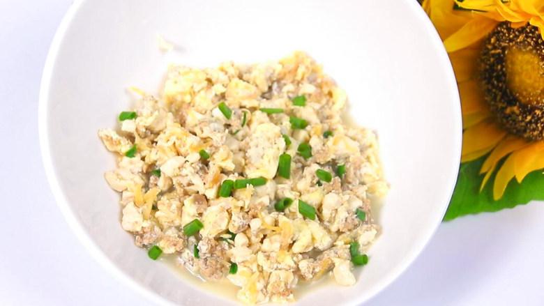 牛肉干贝鸡蛋豆腐羹