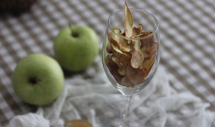 换个吃法吃苹果:烤苹果片!