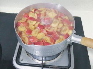 椰蓉山楂球,煮至软烂(大约10来分钟)