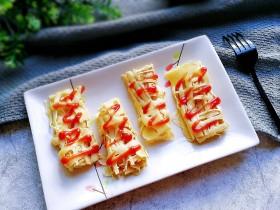 百变鸡蛋+蕾丝鸡蛋饼