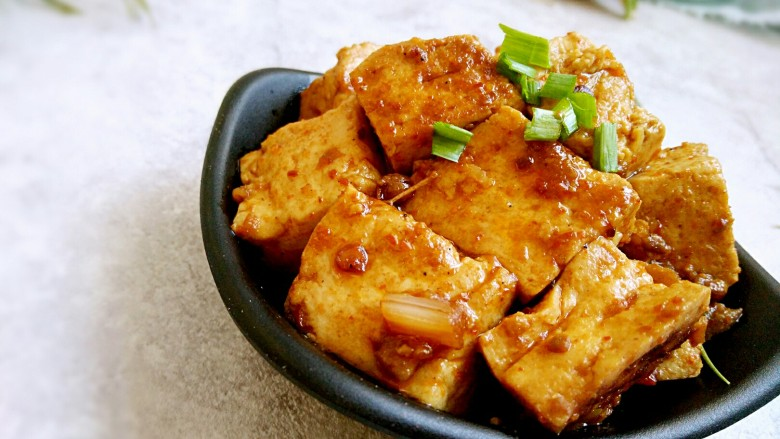 家常味~辣烧豆腐