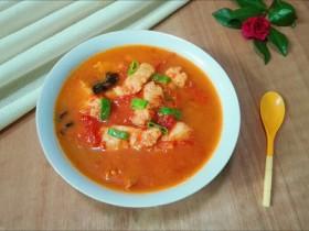 天冷喝汤好~黑耳子番茄巴沙鱼汤