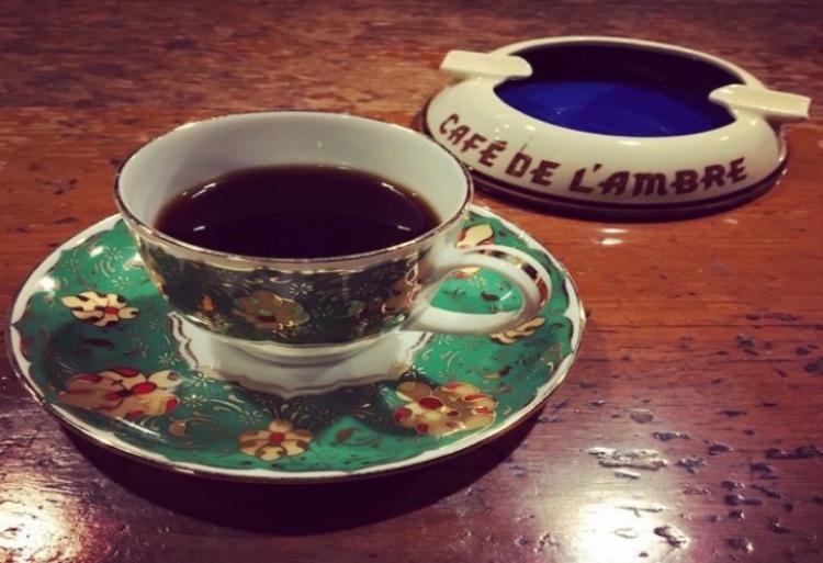 喝的是咖啡品的是时光——日本东京琥珀咖啡CAFE DE L'AMBRE