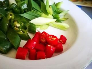 超级下饭菜~小炒鸡杂,红椒切碎
