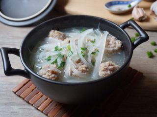 萝卜丝肉丸汤