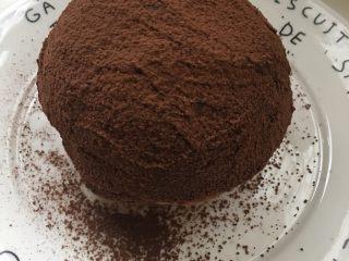 网红脏脏包(懒人版),最后晒一层可可粉