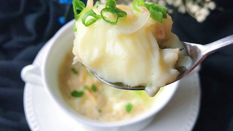 百变鸡蛋+虾扯蛋(小虾米鸡蛋羹),鲜美嫩滑啊……😋🤤