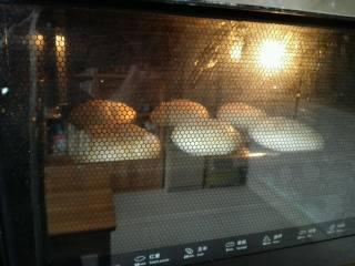 层层酥掉渣的—油酥火烧,预热烤箱,190℃中层烤20分钟左右,最后几分钟要是上色浅可以放上层几分钟上色。
