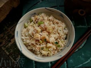 #炒饭秀#芋头炒饭,一碗香喷喷的独家芋头炒饭就此与大家分享了
