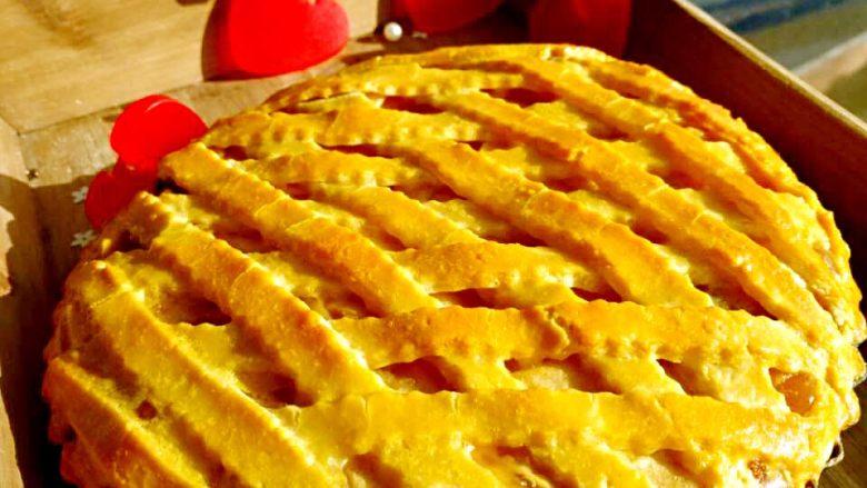 圣诞苹果派-超级酥皮