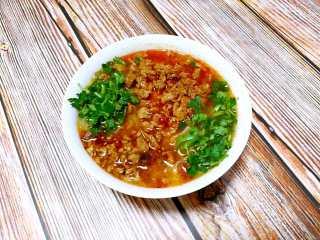 家常版肉臊面(含超简单辣椒油做法),成品