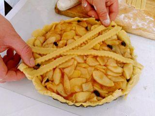 圣诞苹果派-超级酥皮,#
