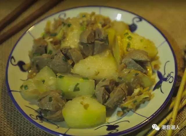 肉丸菜脯焖冬瓜