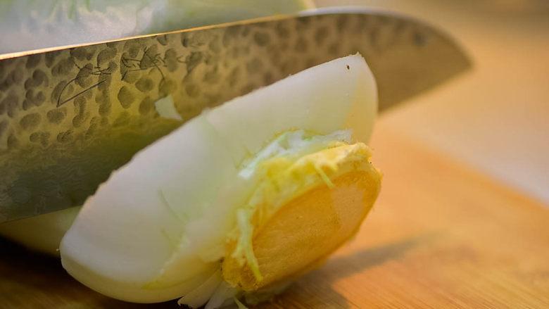 食疗食谱——豆豉葱白水,白菜取根部